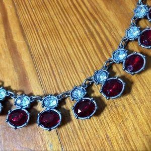 Vintage Faux Gem Necklace